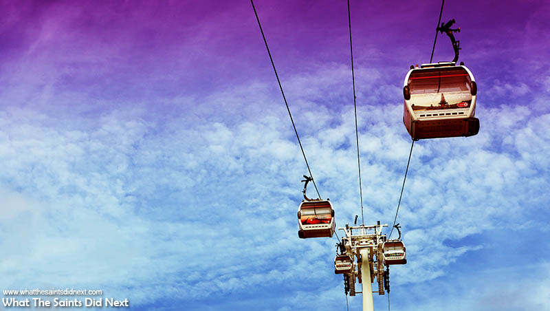 Flying The London Emirates Cable Car – A Cool Thing To Do With Kids
