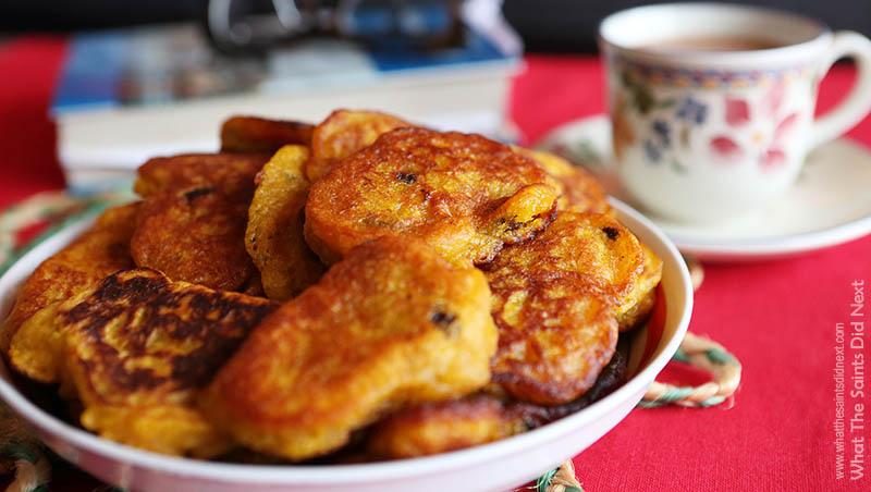 St Helena Pumpkin Fritters Recipe – Saint Fratters
